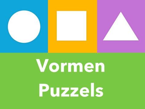 Vormen puzzels by Puzzle Land