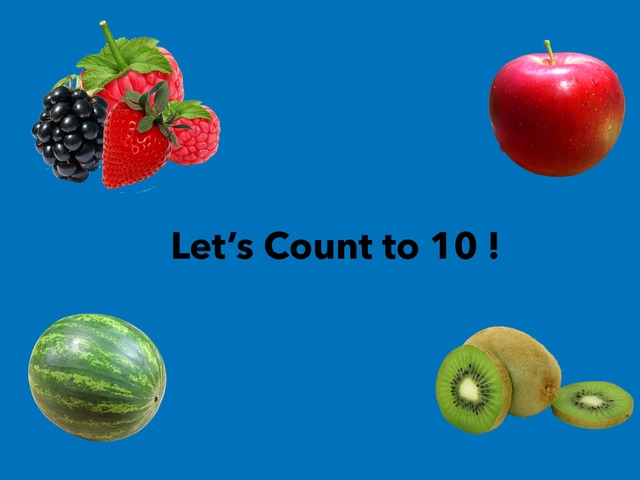 Let's Count To Ten!  by Jennifer Clark