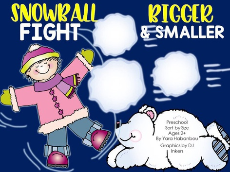 Sort By Size Snowball Fight(EN UK) by Yara Habanbou