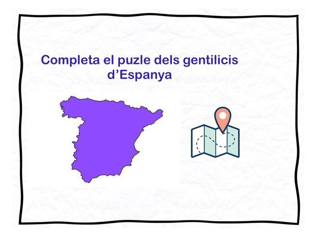 Gentilicis d'Espanya by Begonya Mira