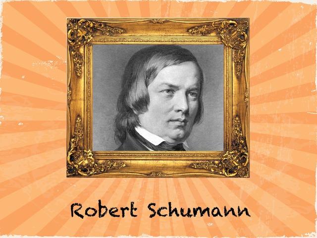 Robert Schumann 2.r. Obrada by natasa delac