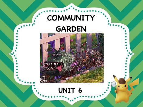 Community Garden - Vocabulary by ShowAnd Text