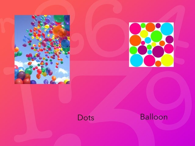 Balloon And Dots  by Jaleh Kan