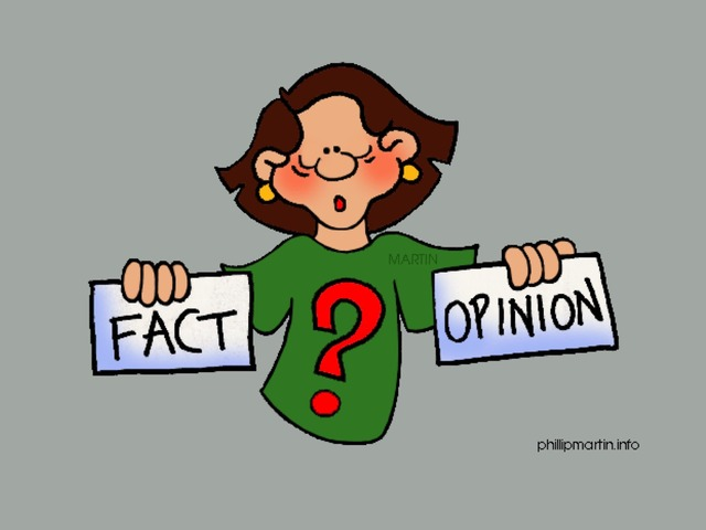 Facts Or Opinion by Carol Smith