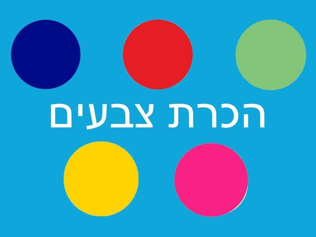הכרת צבעים by livnat divish
