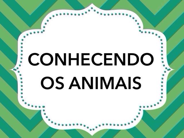 Conhecendo Os Animais by Tobrincando Ufrj