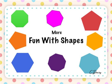 More Fun With Shapes by Catherine Davies