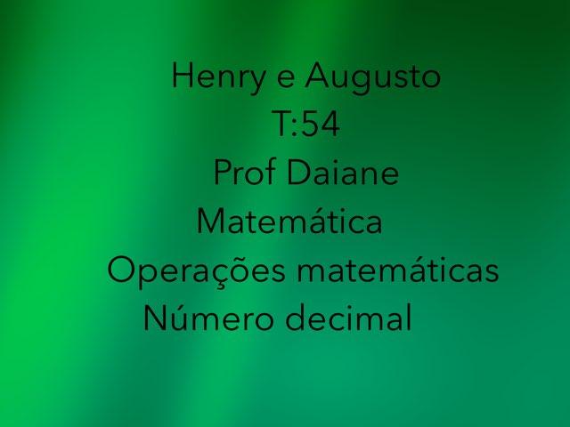 Henry e Augusto by Rede Caminho do Saber