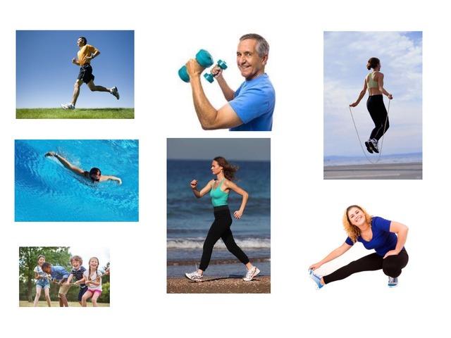 סוגי פעילות גופנית by Batel Cohen