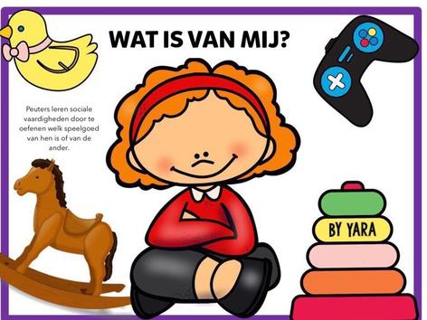 Wat is van mij? Wat is van jou? Speelgoed delen by Yara Habanbou