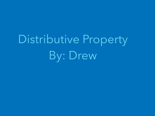 Distributive Property  by Cindy Carling