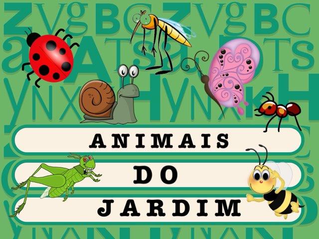 Animais Do Jardim_G5 by Fernanda Lourenco