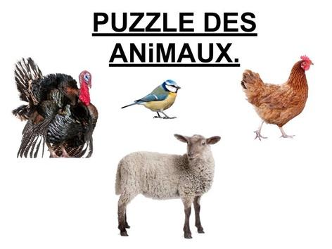 Puzzle Des Animaux 4. by Valerie Escalpade