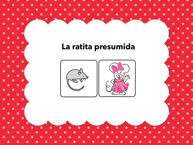 La ratita presumida by Francisca Sánchez Martínez