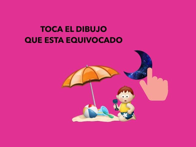 TOCA EL DIBUJO QUE ESTA EQUIVOCADO  by Francisca Sánchez Martínez