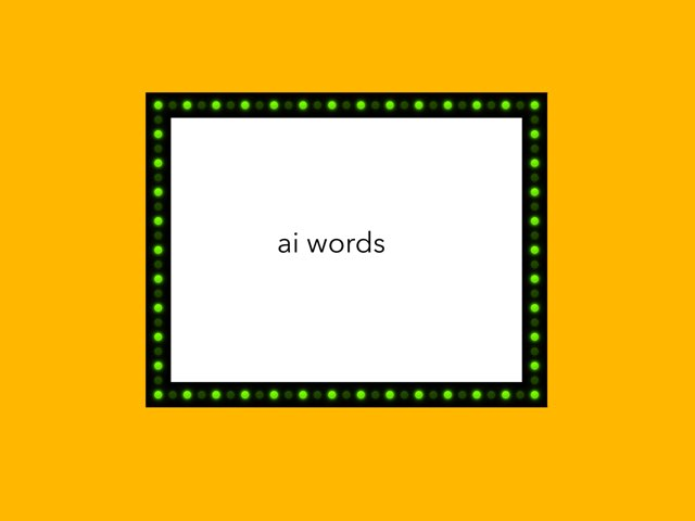 Ai Words  by Resource Room