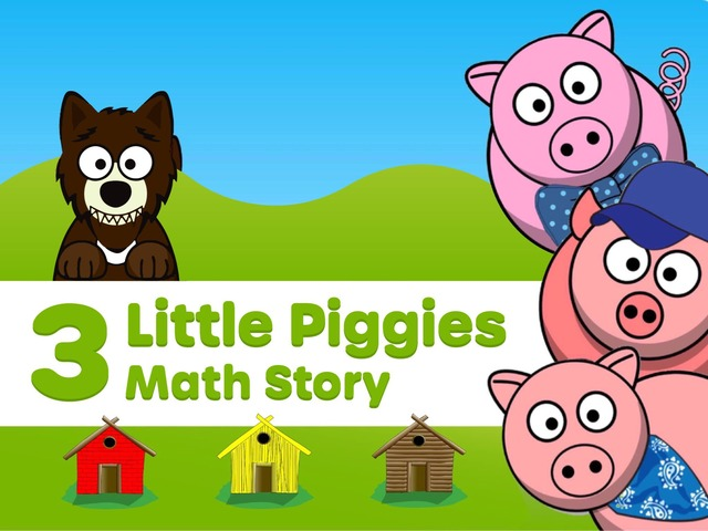 3 Piggy Math by Ellen Weber