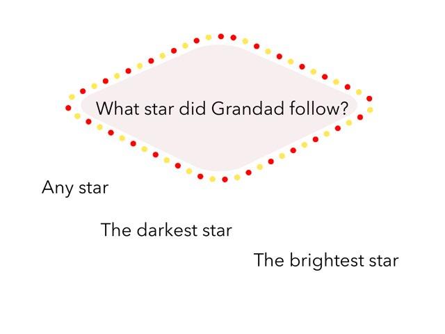 Mrs Aue Grandad's Star by Nicole Aue