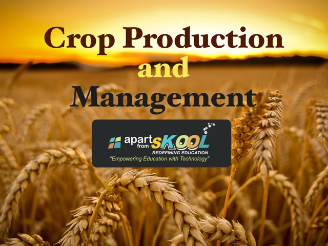 Crop Production And Management by TinyTap creator
