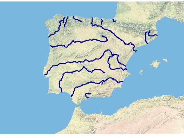 Mapa  de Rios by Aitor Moreno Ortiz