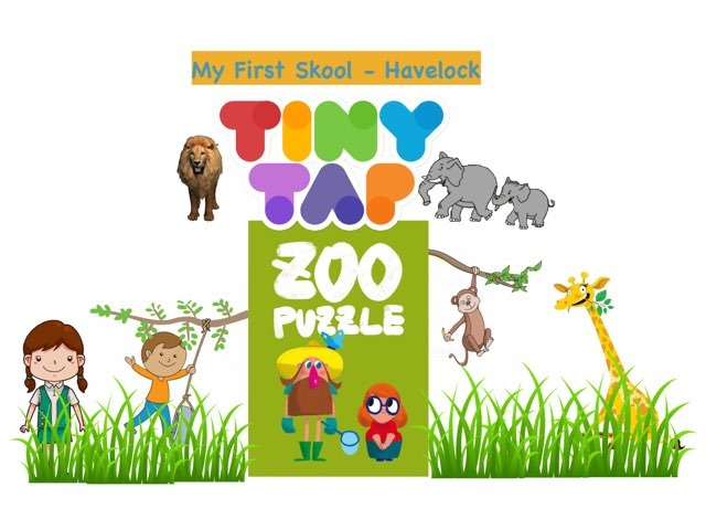 Zoo puzzle by Cher Leah