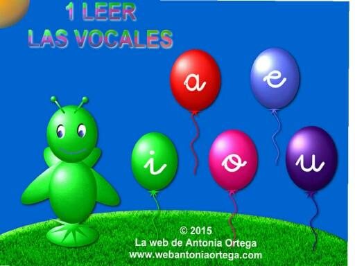 1VOCALES by Antonia Ortega López
