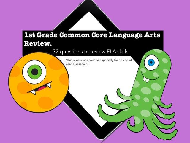 1st Grade Common Core ELA by Jennifer