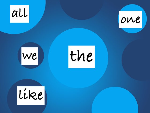 1st Grade RS Sight Words Unit R by Jacquie Conway