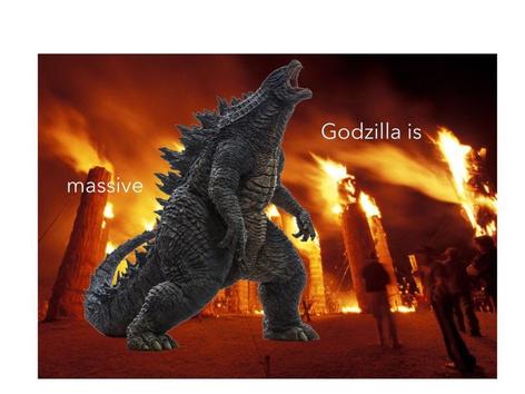 Science Vocab W/Godzilla by MOLLY THOMPSON