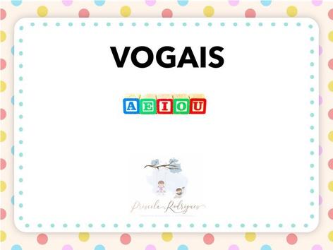 Vogais  by Priscila Rodrigues