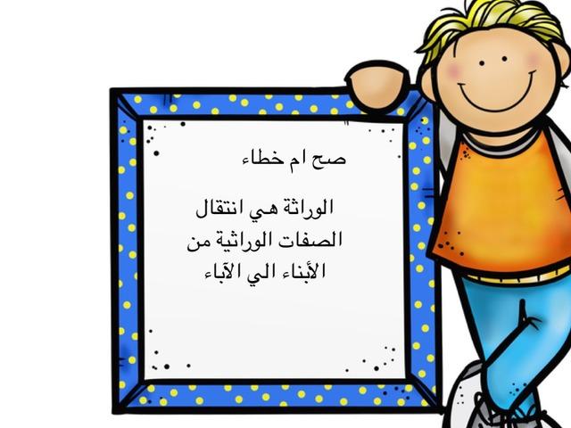 الوراثة by العنود العطوي