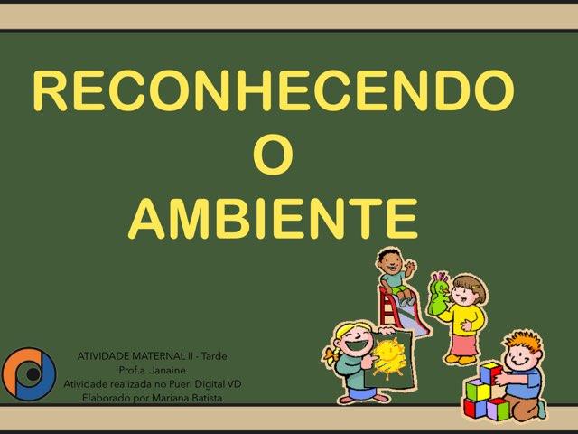 RECONHECENDO O AMBIENTE by Pueri digital verbo divino