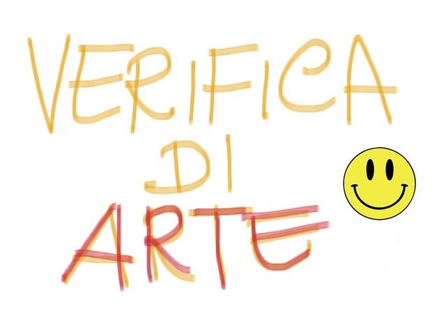 Verifica di Arte by Michela Martelli