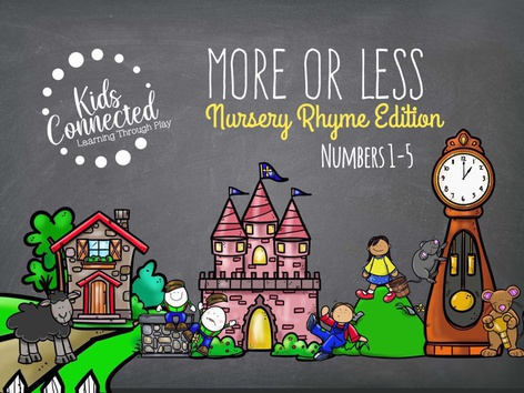 More Or Less Nursery Rhymes Edition(UK) by Kids  Connected