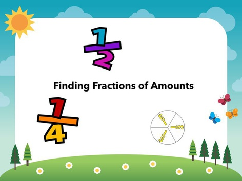 Fractions Of Amounts by Katie McCaskey