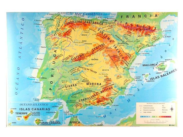 España Físico by Alex Narrillos