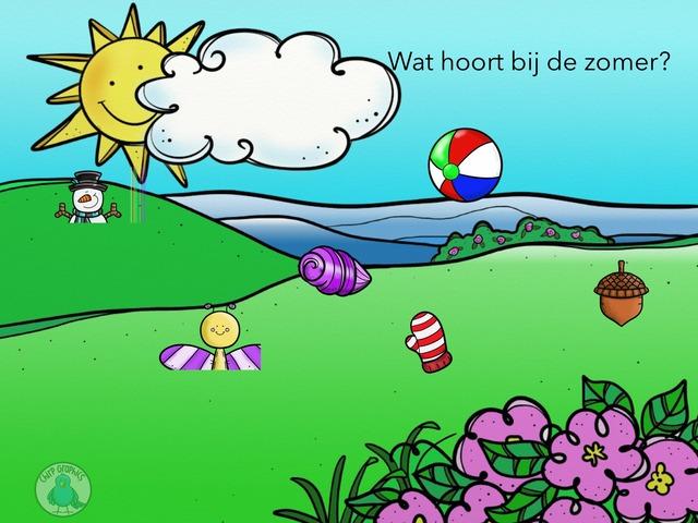 Wat hoort bij de zomer? by Anke Hafmans