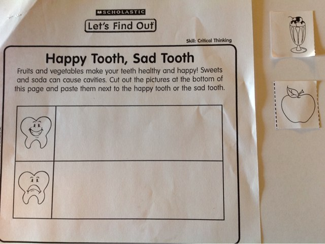 208am Happy Tooth, Sad Tooth by Mindy Robbins