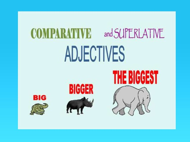 Comparative And Superlative Adjectives  by Carol Smith