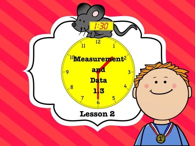 Measurement & Data 1.3 Lesson 2 Of 5 by Jennifer