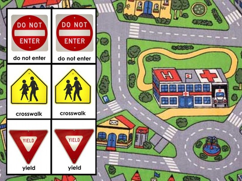 Malia - Road Sign Match (puzzle) by Ma Noel