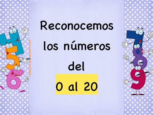 TECC Reconocimiento de los Números del 0 al 20 by Sara Burgueño Peña