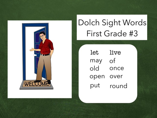 Dolch Sight Words: First Grade #3 by Carol Smith