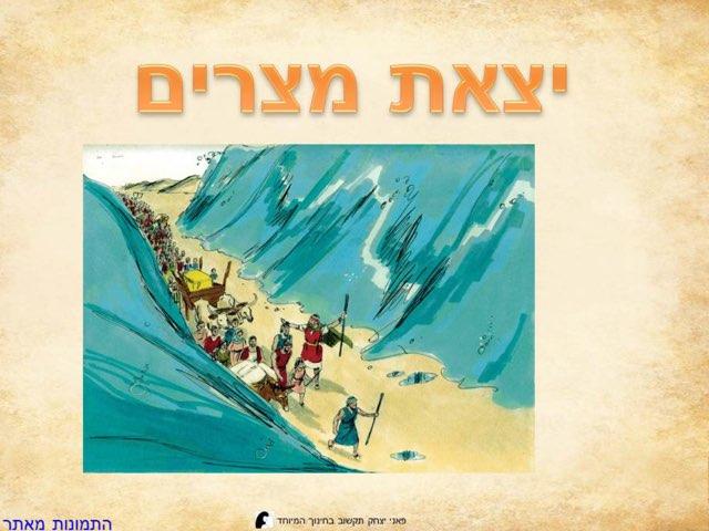 יצאת מצרים by פאני יצחק