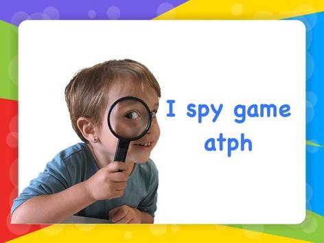 I spy - atph by Jessica Lima