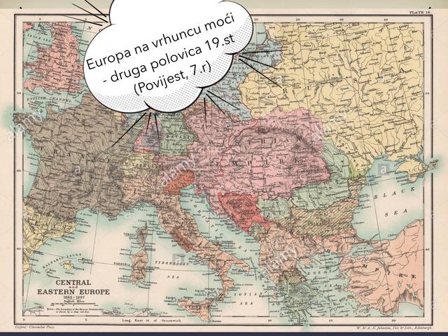 Europa U Drugoj Polovici 19.st - Povijest, 7.razred by Sonja Perković