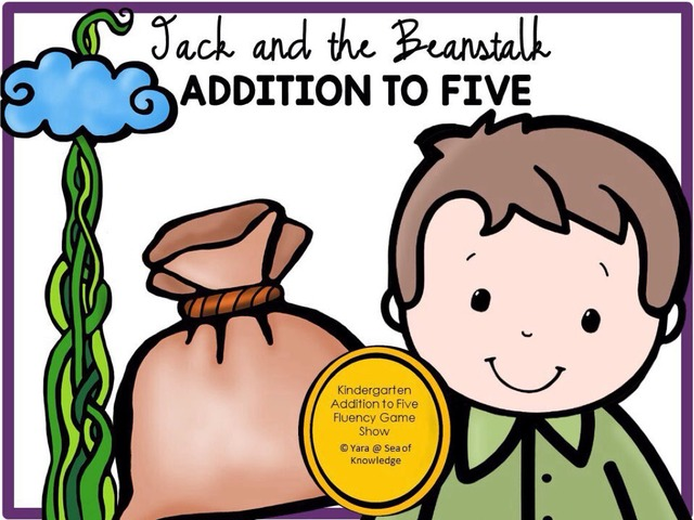 Addition Facts Fluency - Jack And The Beanstalk by Yara Habanbou