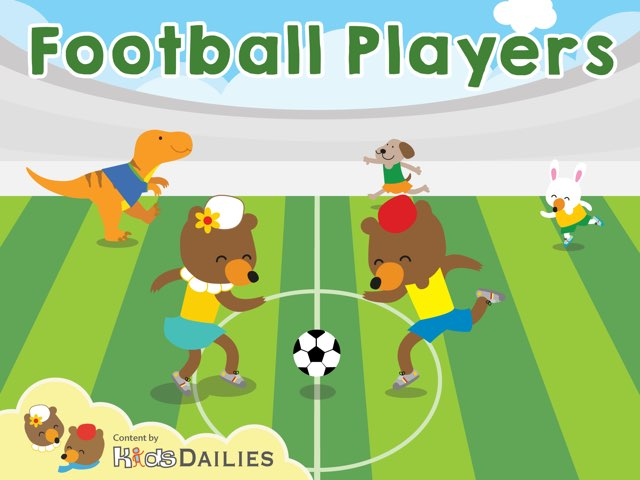 Football Players by Kids Dailies