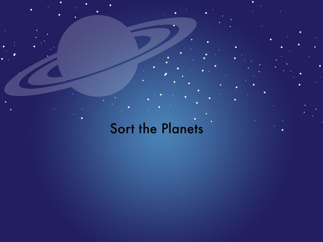 Solar System Sort DPISD CE by Carpenter Cats