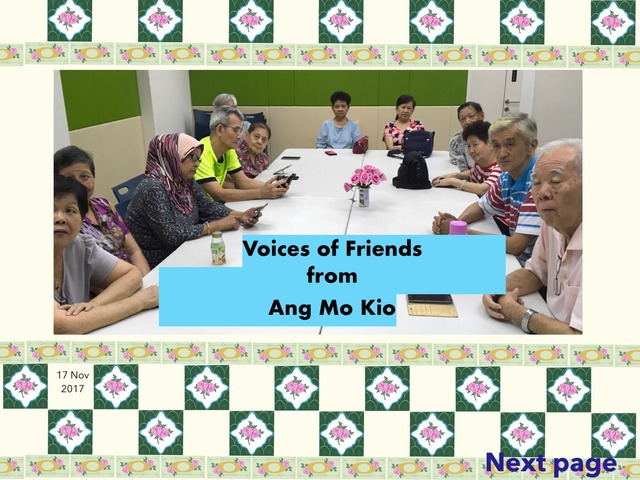 Voices Of AMK by Moses Sia
